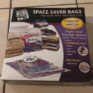 Space Saver bags vacuum seal 11 bag set